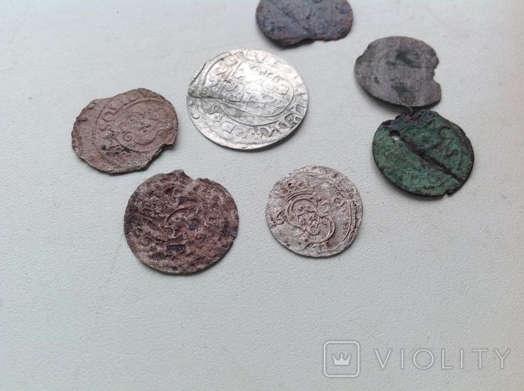 Двуденар 1620+ бонус (фрагменти монет 7), фото №6