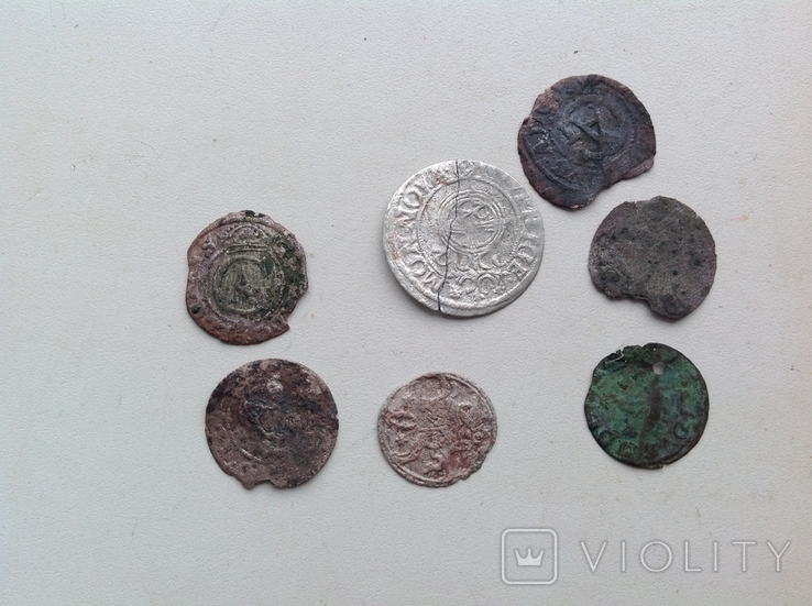 Двуденар 1620+ бонус (фрагменти монет 7), фото №9