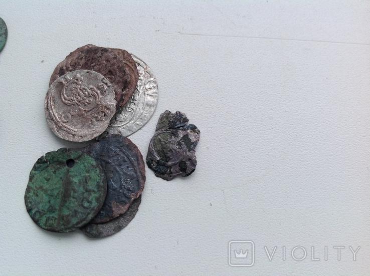 Двуденар 1620+ бонус (фрагменти монет 7), фото №12