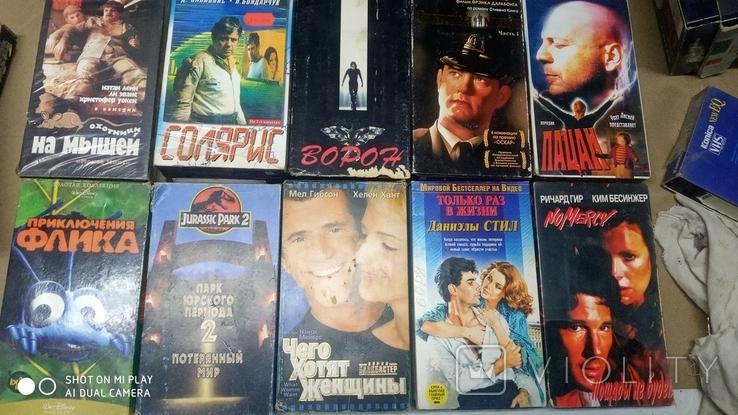 Видеокассеты разных жанров 41 шт., фото №8