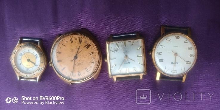 Часы разные позолота, фото №2