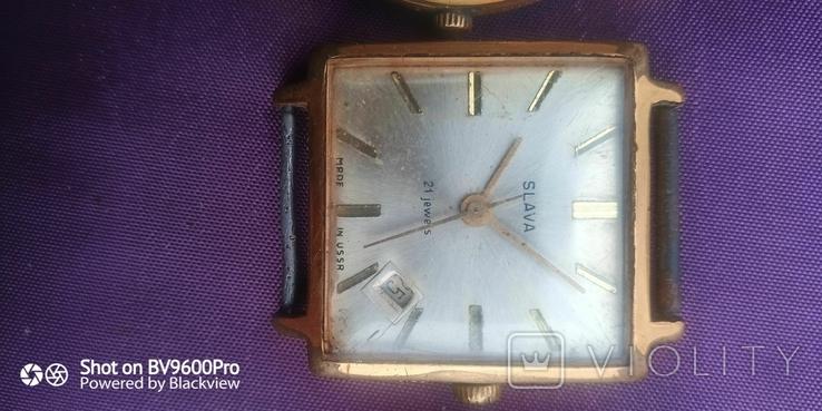 Часы разные позолота, фото №6
