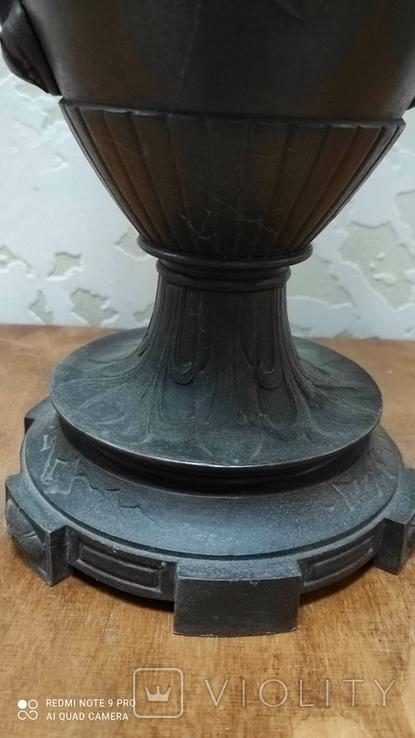 Большая керассиновая лампа 19 век., фото №7