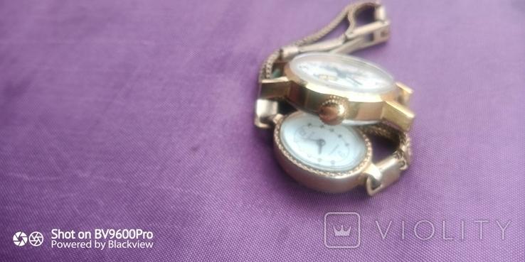 Часы женские 2 шт СССР, фото №2