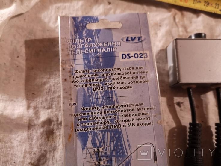 Переходник для антены 3 шт фільтр розгалуження телесигналів, фото №9