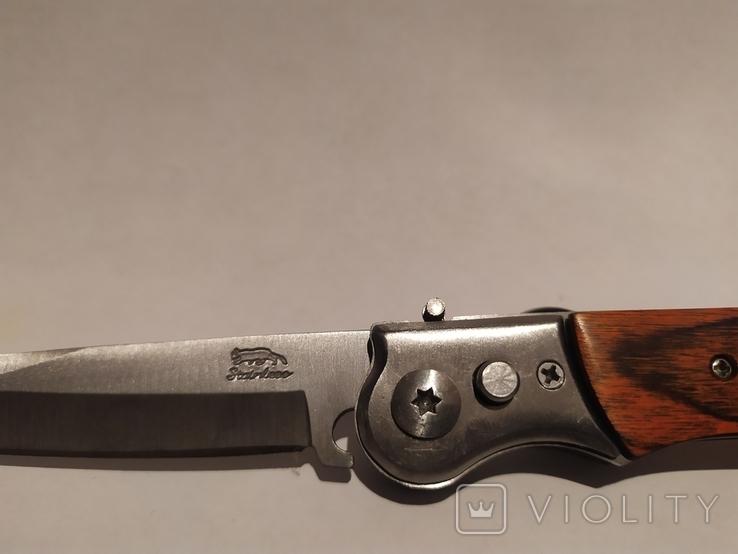 Нож с боковым выбросом (перо), фото №10
