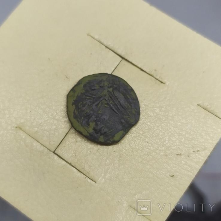 Монета Иудея, прута. Прокуратор Понтий Пилат. (1-13.11), фото №3