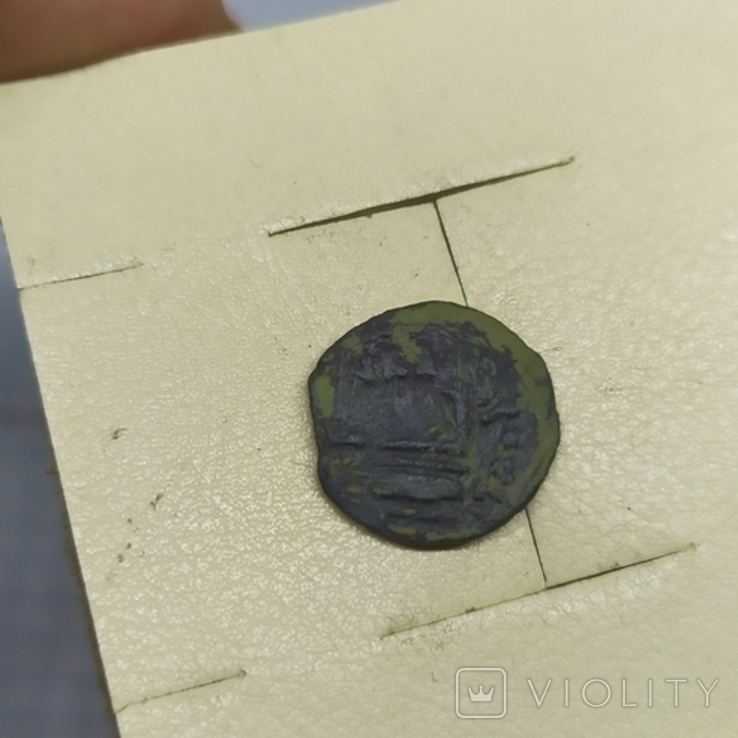 Монета Иудея, прута. Прокуратор Понтий Пилат. (1-13.11), фото №5