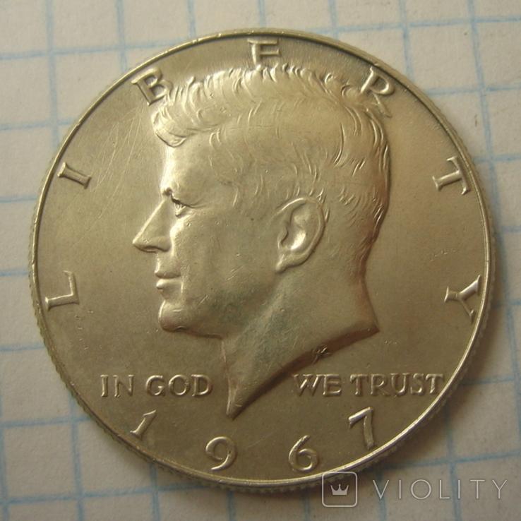 США 50 центов 1967 года., фото №6