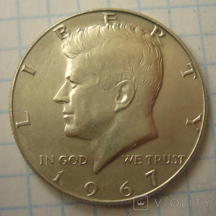 США 50 центов 1967 года., фото №7