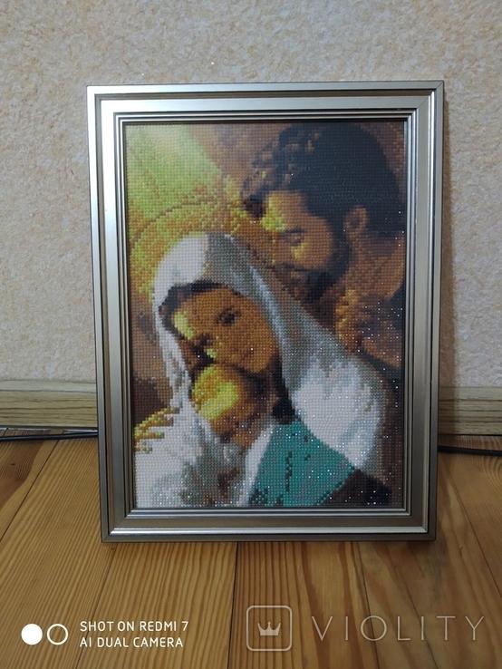 Икона Святого семейства, фото №2