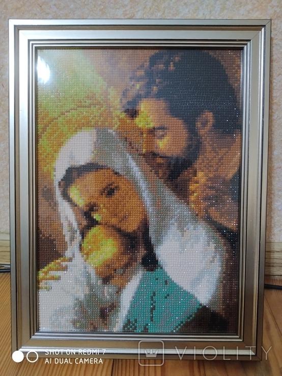 Икона Святого семейства, фото №3