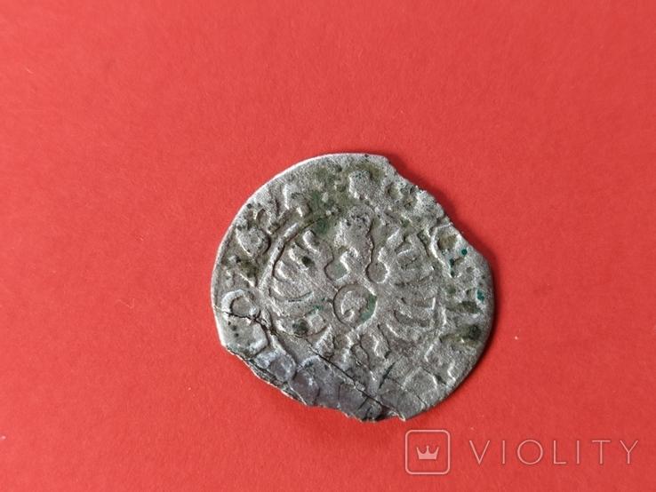 Коронный грош 1624 года. Сиг. ІІІ Ваза., фото №2