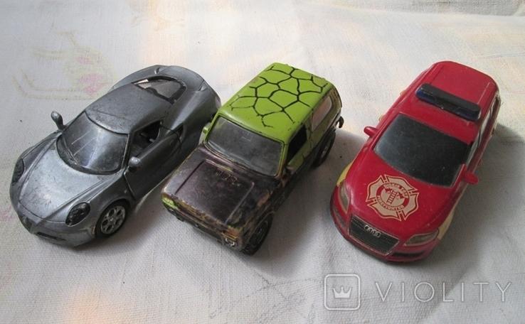 Машинки на реставрацию 7 шт, фото №2