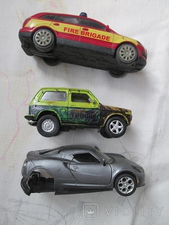 Машинки на реставрацию 7 шт, фото №5