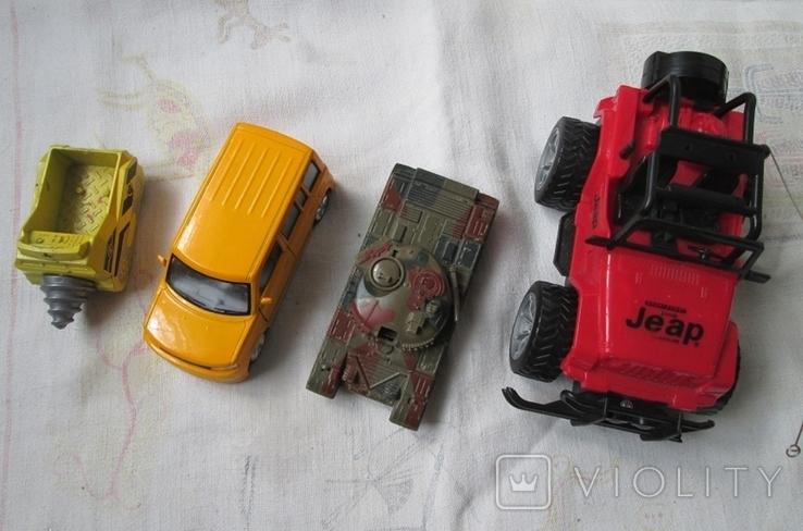 Машинки на реставрацию 7 шт, фото №7