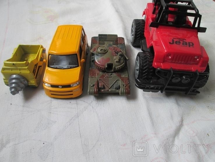 Машинки на реставрацию 7 шт, фото №8