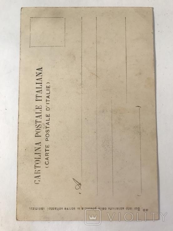 Открытка Италия Palazzo Vecchio, architettura di Arnolfo di Cambio Firenze, фото №3