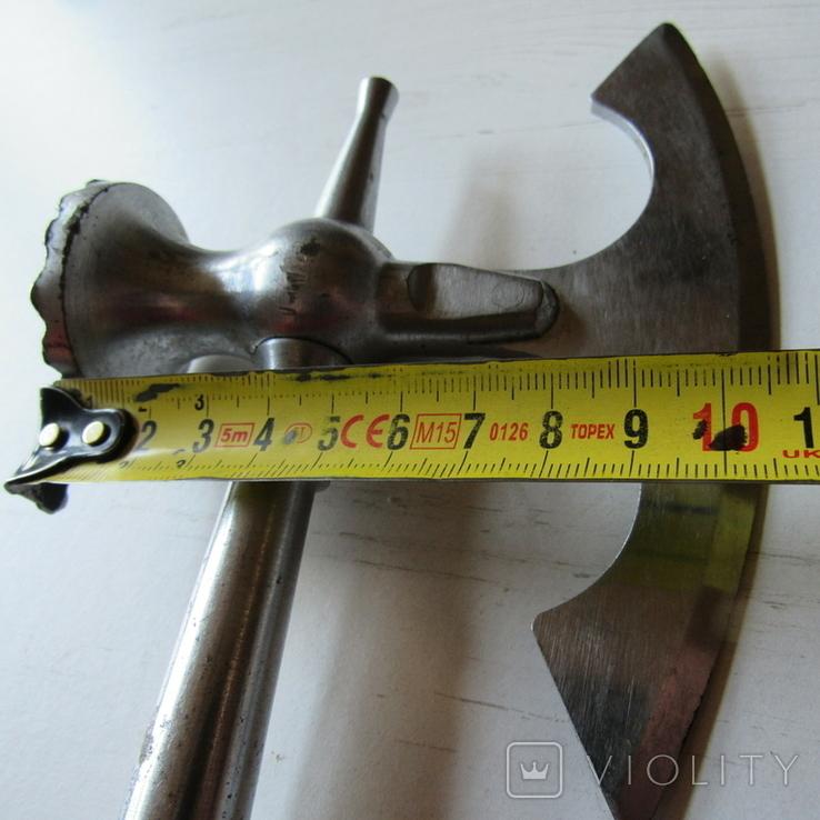 Топор с отбивным молотком кухонный СССР клейма знак качества 2, фото №13
