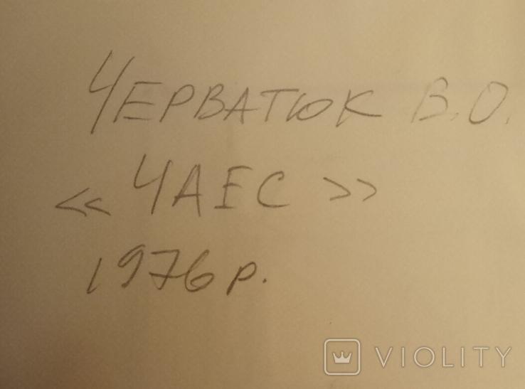 ЧАЕС строительство 1976 год.43-51см., фото №4