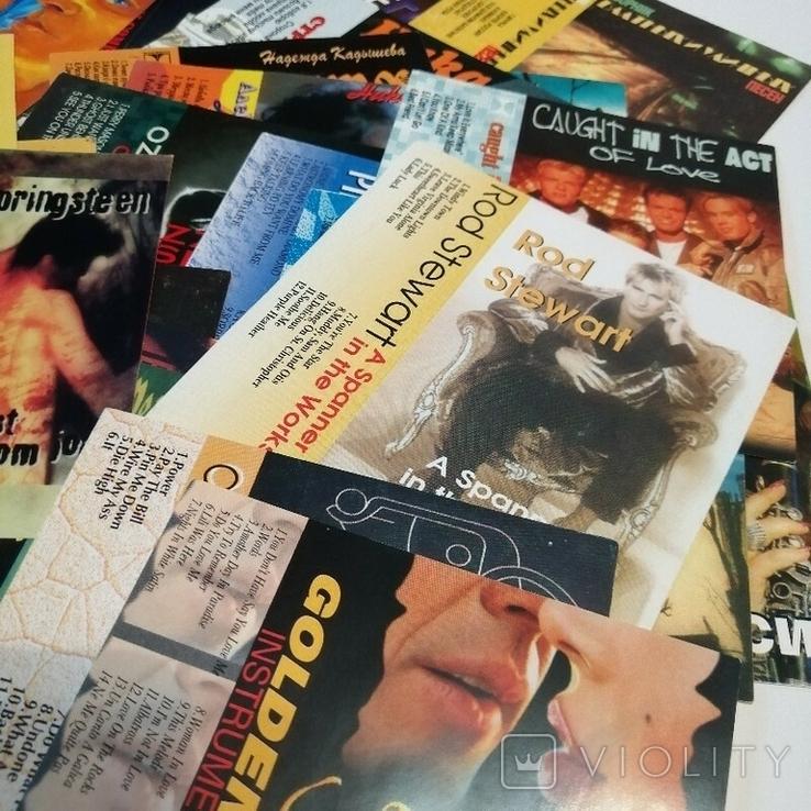 Обложки вкладыши к аудио кассетам. Музыканты. Певцы. Группы. Музыка 90х, фото №3