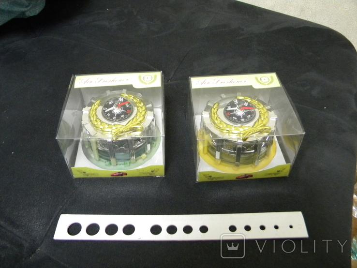 Ароматизаторы в авто и др. 2 шт, фото №2