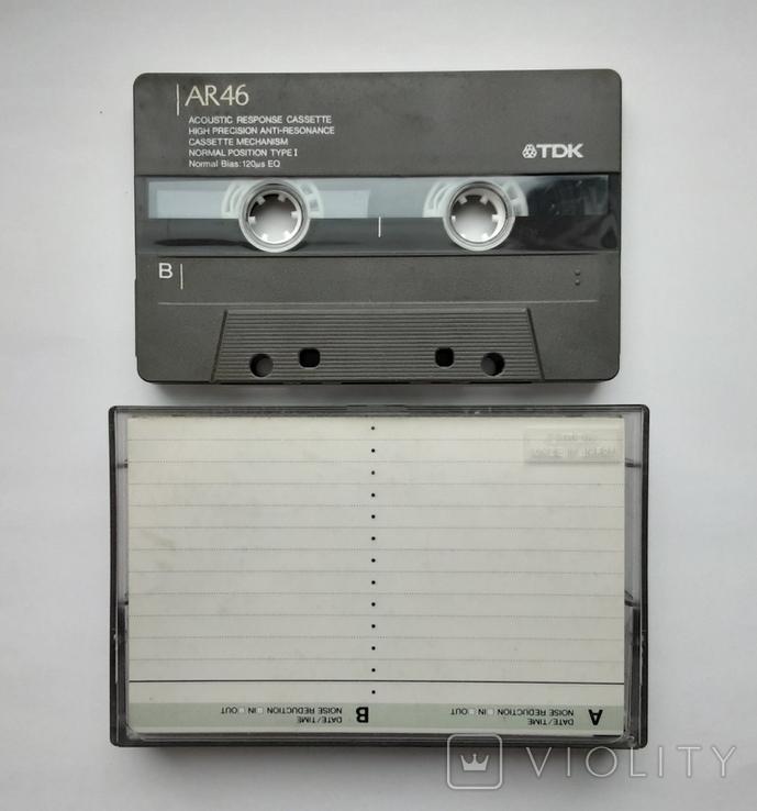Аудиокассета TDK AR60 (Jap), фото №3