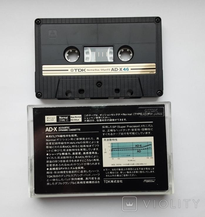 Аудиокассета TDK AD-X46 (Jap), фото №3