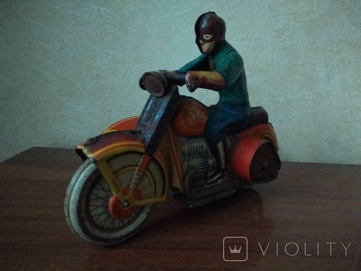 Мотоцикл с коляской 50 е годы., фото №3