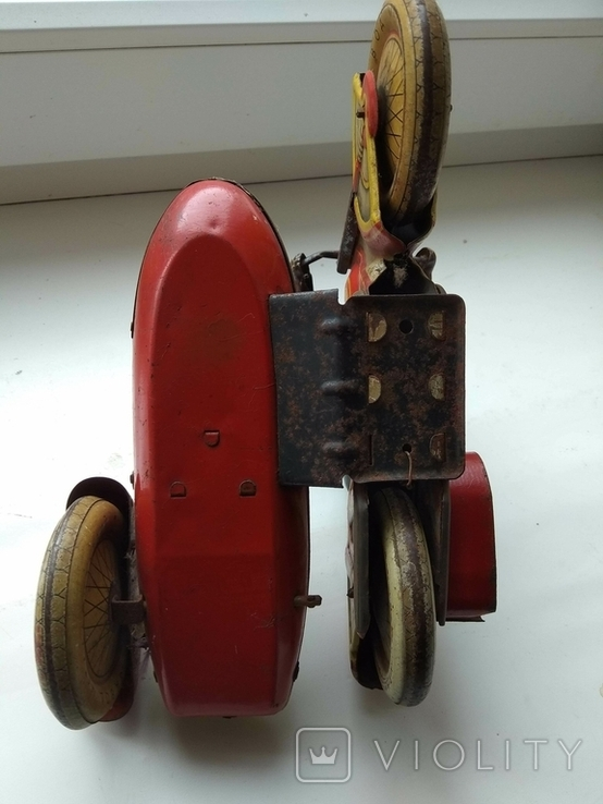 Мотоцикл с коляской 50 е годы., фото №11