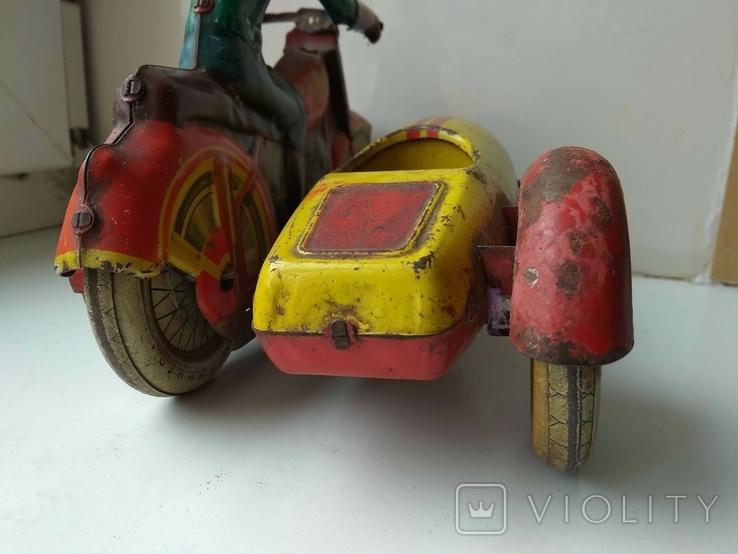 Мотоцикл с коляской 50 е годы., фото №13