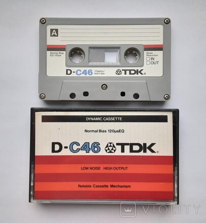 Аудиокассета TDK D-C46 (Jap 1979), фото №2