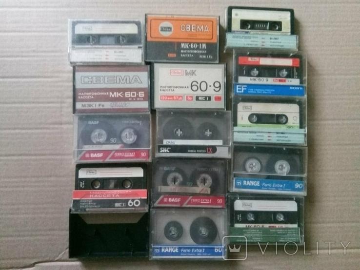 14 кассет из СССР + бонус, фото №2