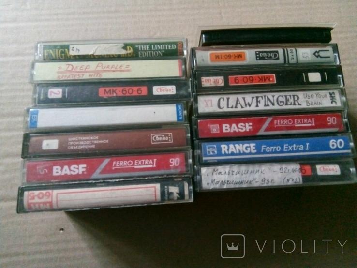 14 кассет из СССР + бонус, фото №3