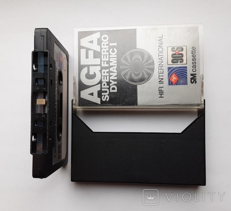 Аудиокассета AGFA Super ferro 90+6 (GER 1978), фото №5