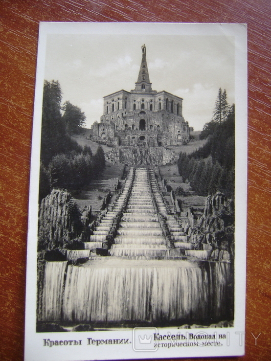 Открытка,водопад. Германия, фото №2
