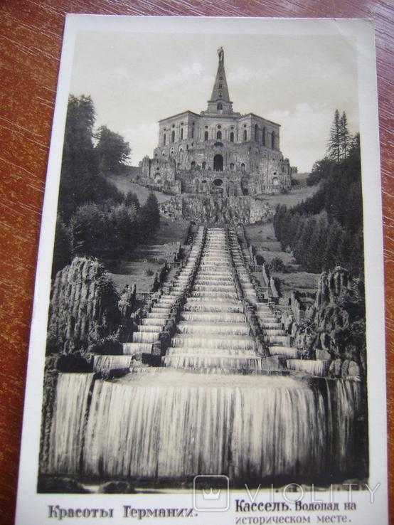 Открытка,водопад. Германия, фото №3
