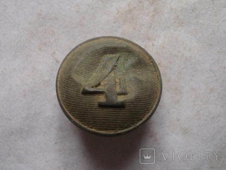 Пуговица №4 Франция ПМВ, фото №2