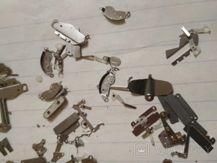 Запчасти мелкие разные на механизмы кварцевые часы, фото №7