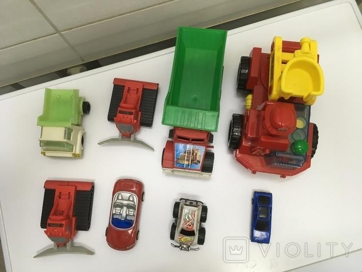 Машинки разные,одним лотом, фото №3