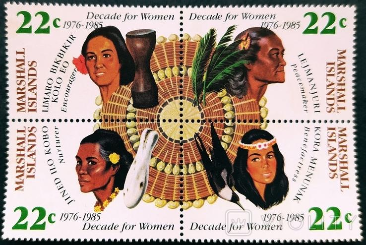 Маршалловы о-ва ** 1985г. Международный день женщин