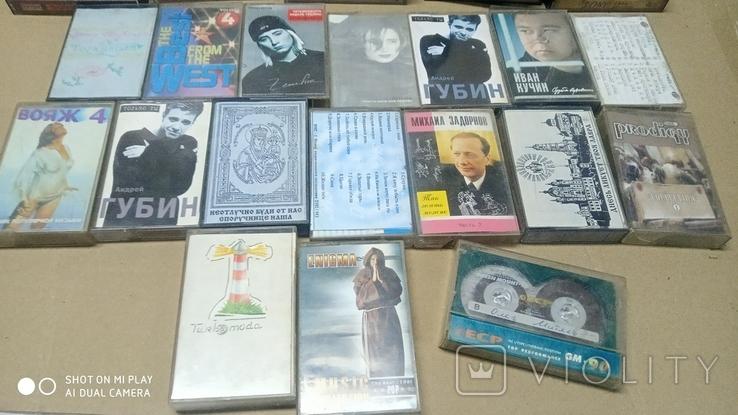 Аудиокассеты 90-2000 годов 195 штук, фото №5
