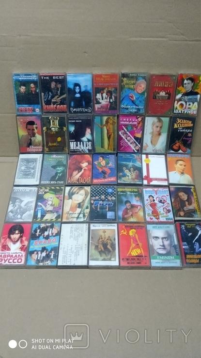 Аудиокассеты 90-2000 годов 195 штук, фото №9