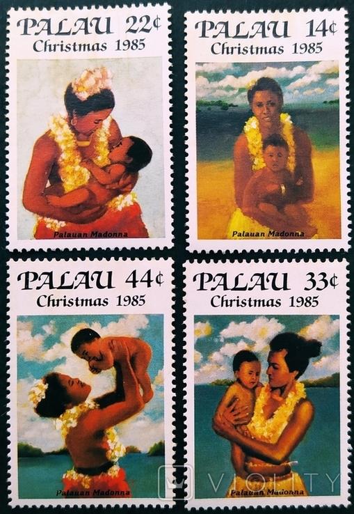 Палау ** 1985г. Рождество
