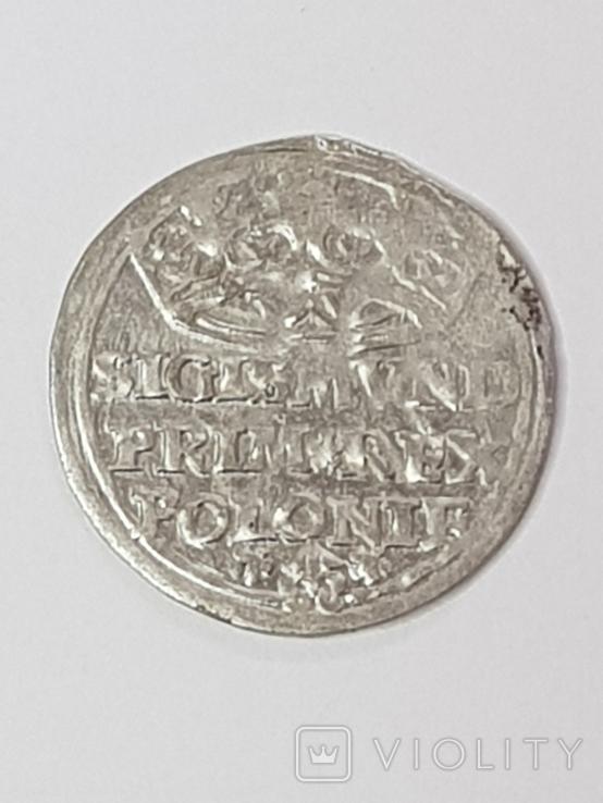 Сігізмунд1гріш,1527р., фото №2