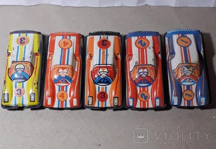 Гоночные машинки СССР 5 шт. Киевский з-д, фото №2