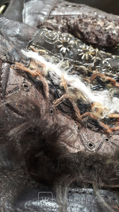 Сумка. Изделия из кожи и замши. Roberto lepri. Рим. Италия., фото №9
