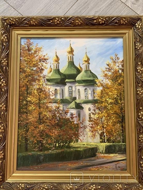 Картина церковь, фото №2