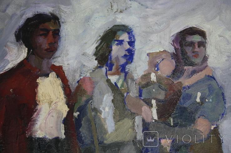 Картина 100х73 Худ. Дашкевич, фото №8