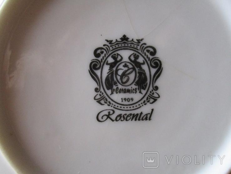 Старая тарелка 1909 г., фото №5